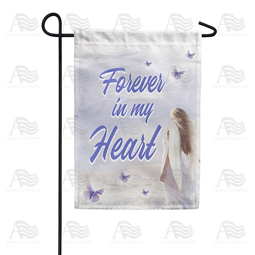 Heavenly Angel Double Sided Garden Flag