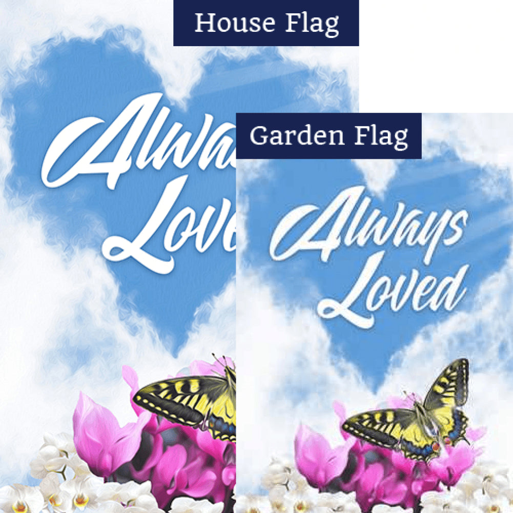Always Loved Flags Set (2 Pieces)