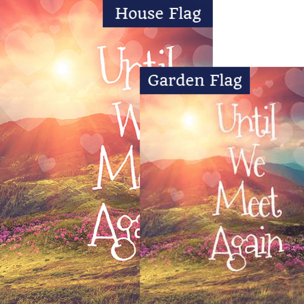 Until We Meet Again Flags Set (2 Pieces)