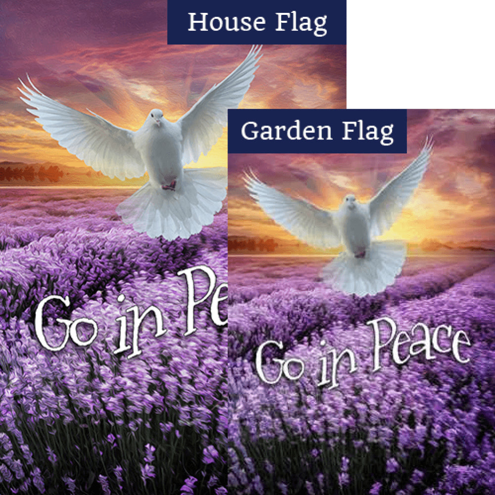 I'll Fly Away Flags Set (2 Pieces)