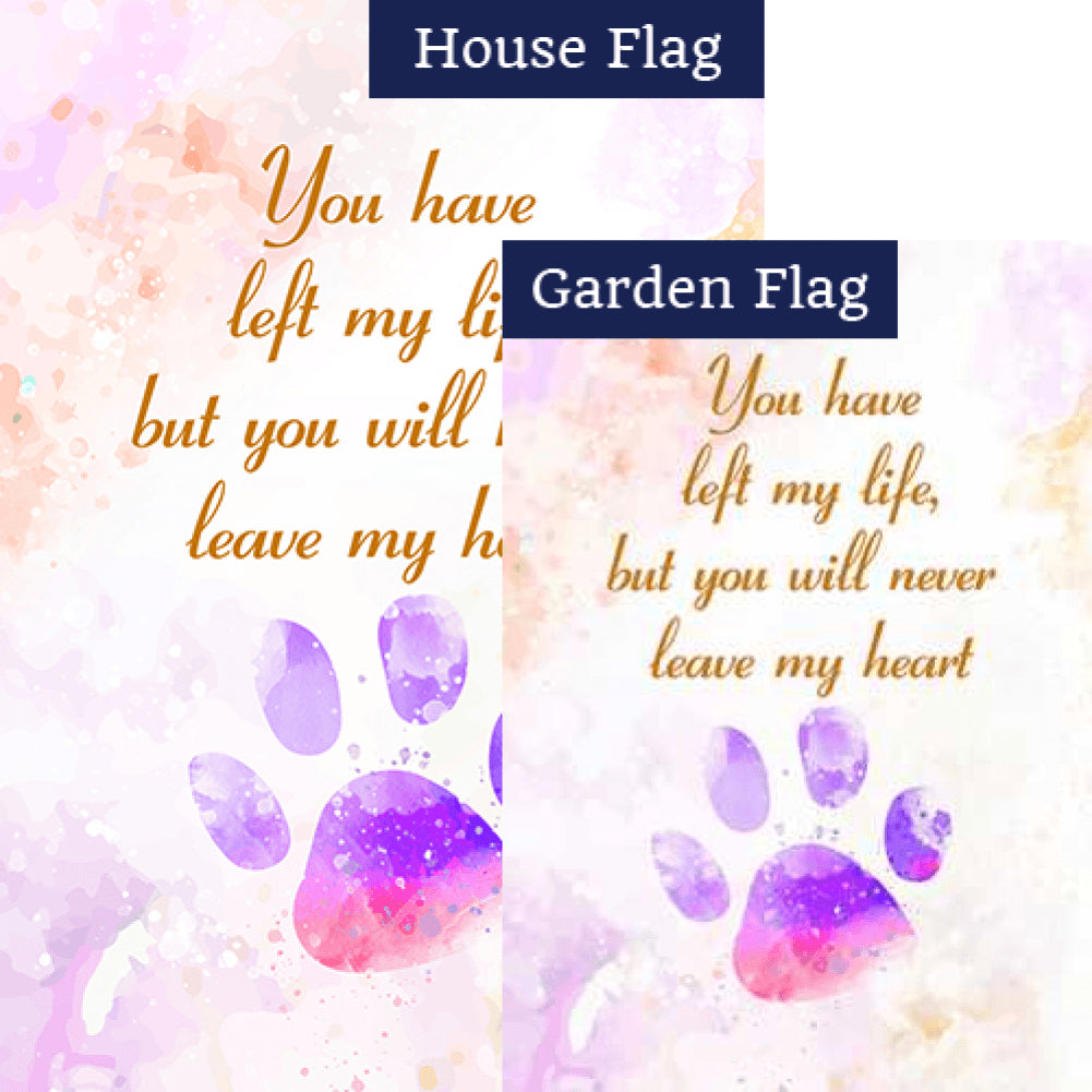 Pet Remembrance Flags Set (2 Pieces)