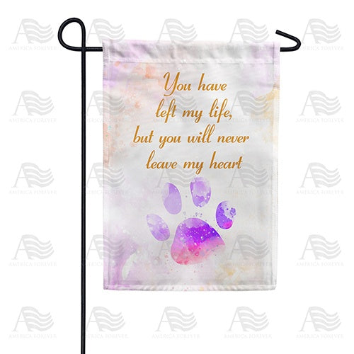 Pet Remembrance Double Sided Garden Flag