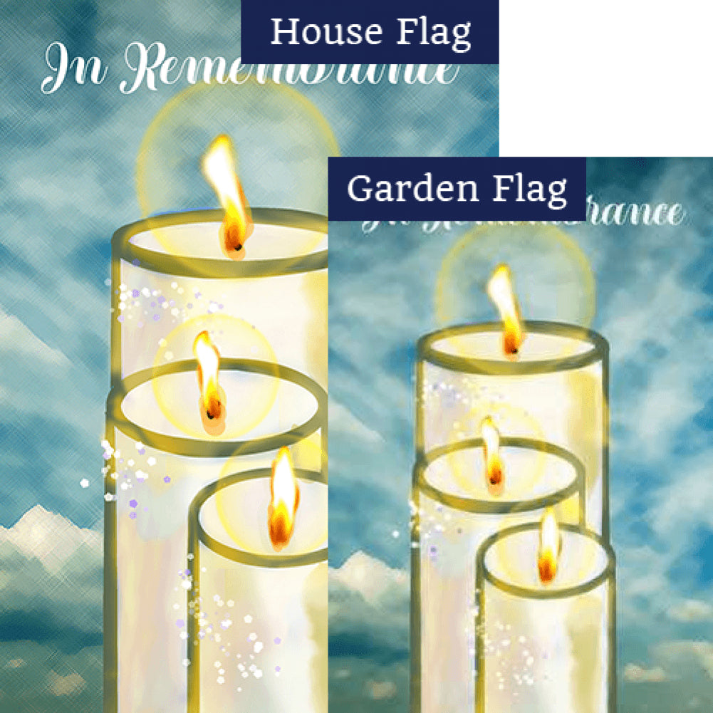 Eternal Light Flags Set (2 Pieces)