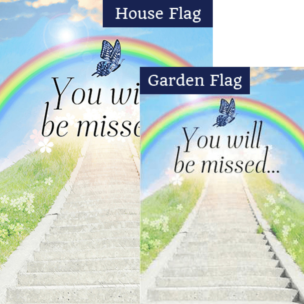 Stairway To Heaven Flags Set (2 Pieces)