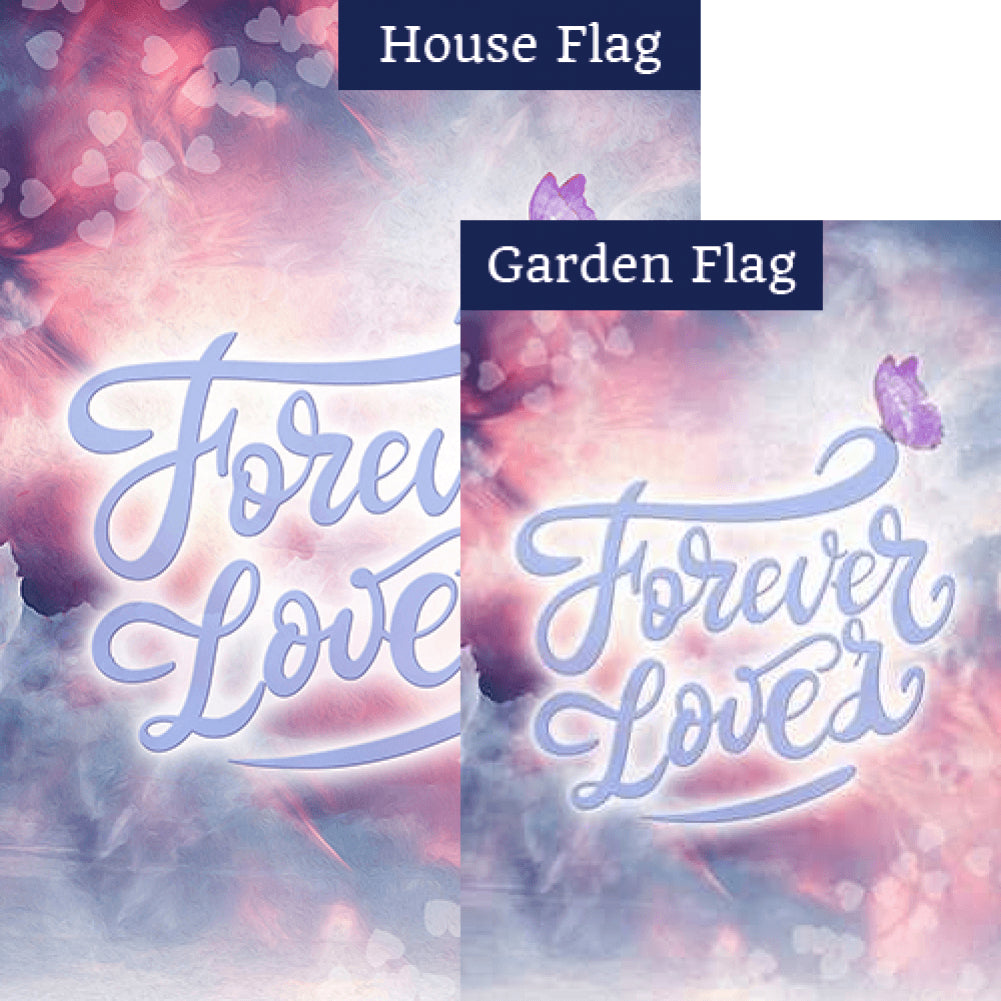 Eternal Love Flags Set (2 Pieces)