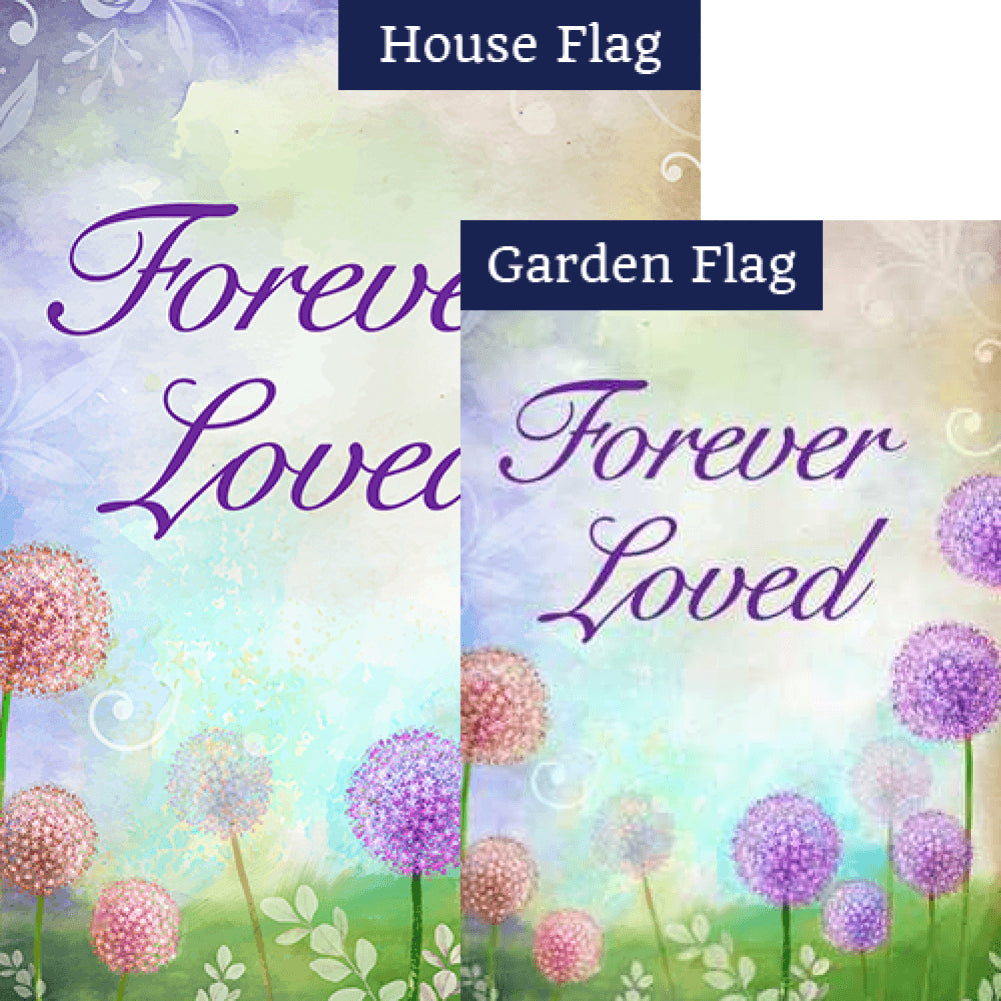 Forever Loved Flags Set (2 Pieces)
