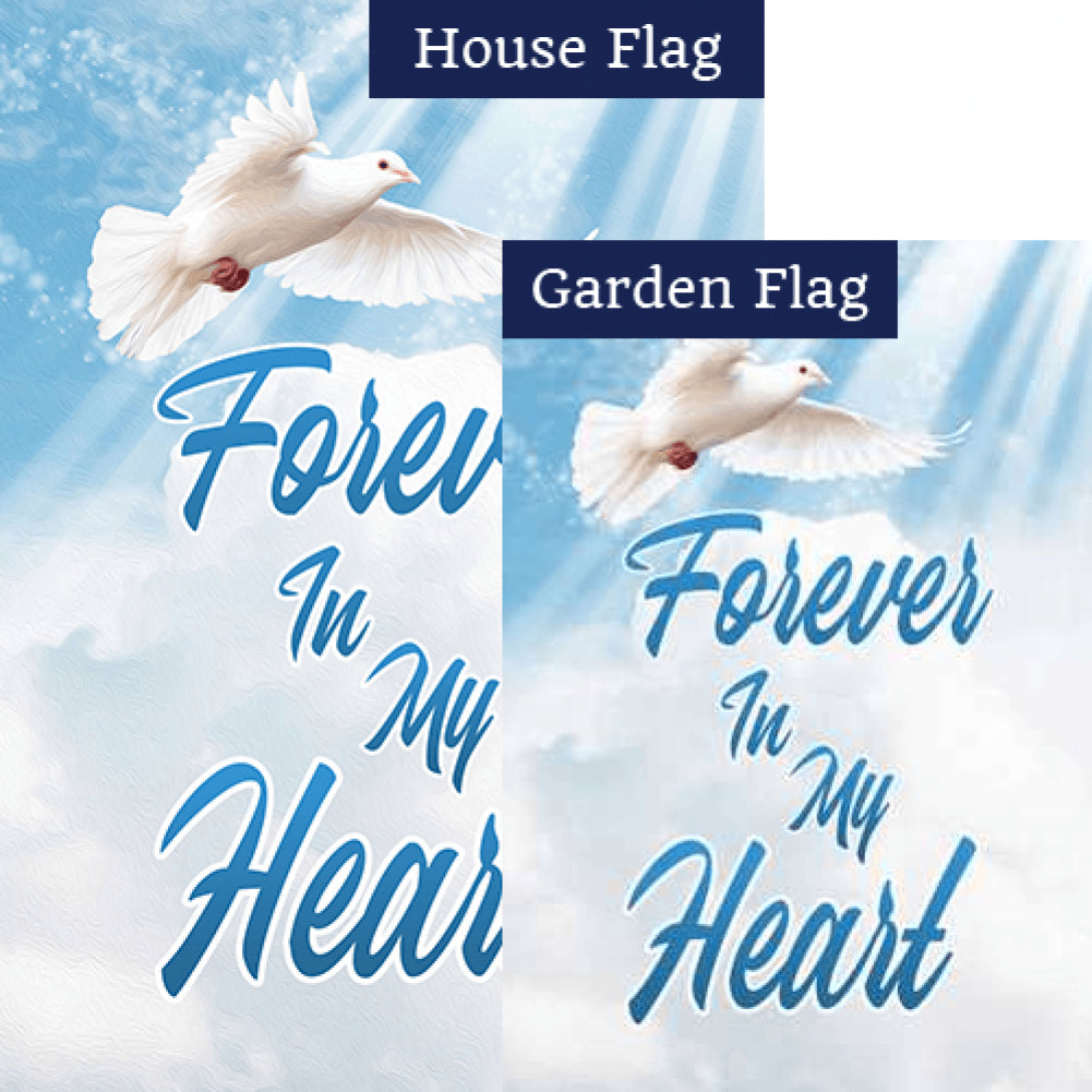 Forever In My Heart Flags Set (2 Pieces)
