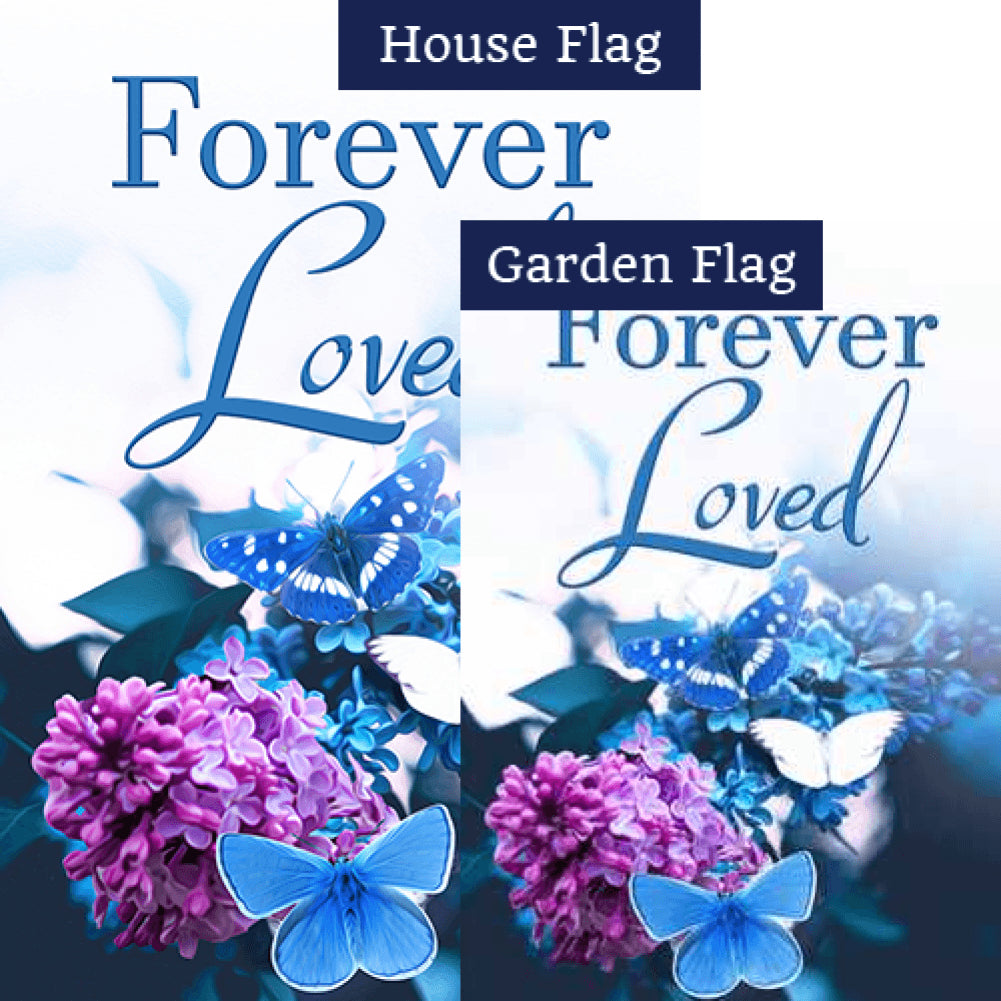 Feeling Blue Missing You Flags Set (2 Pieces)