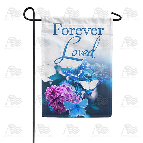 Feeling Blue Missing You Double Sided Garden Flag