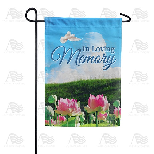 Peace In The Valley Double Sided Garden Flag