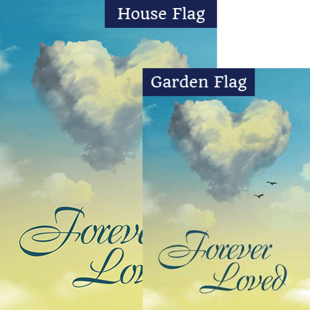 Heavenly Love Flags Set (2 Pieces)