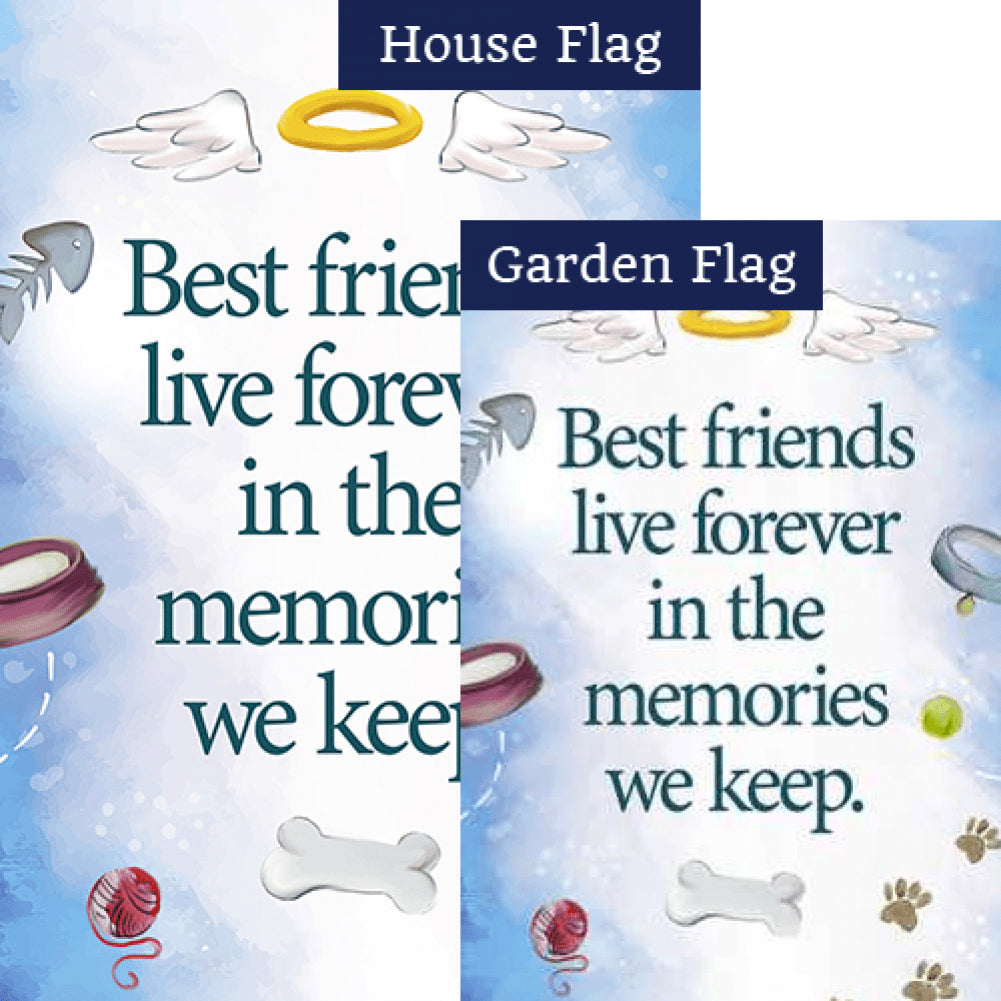 Pet Memories Flags Set (2 Pieces)