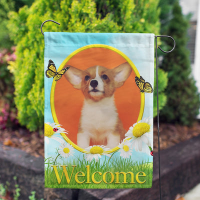 Personalized Loves Me, Loves Me Not Garden Flag