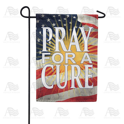 Pray for a Cure Double Sided Garden Flag