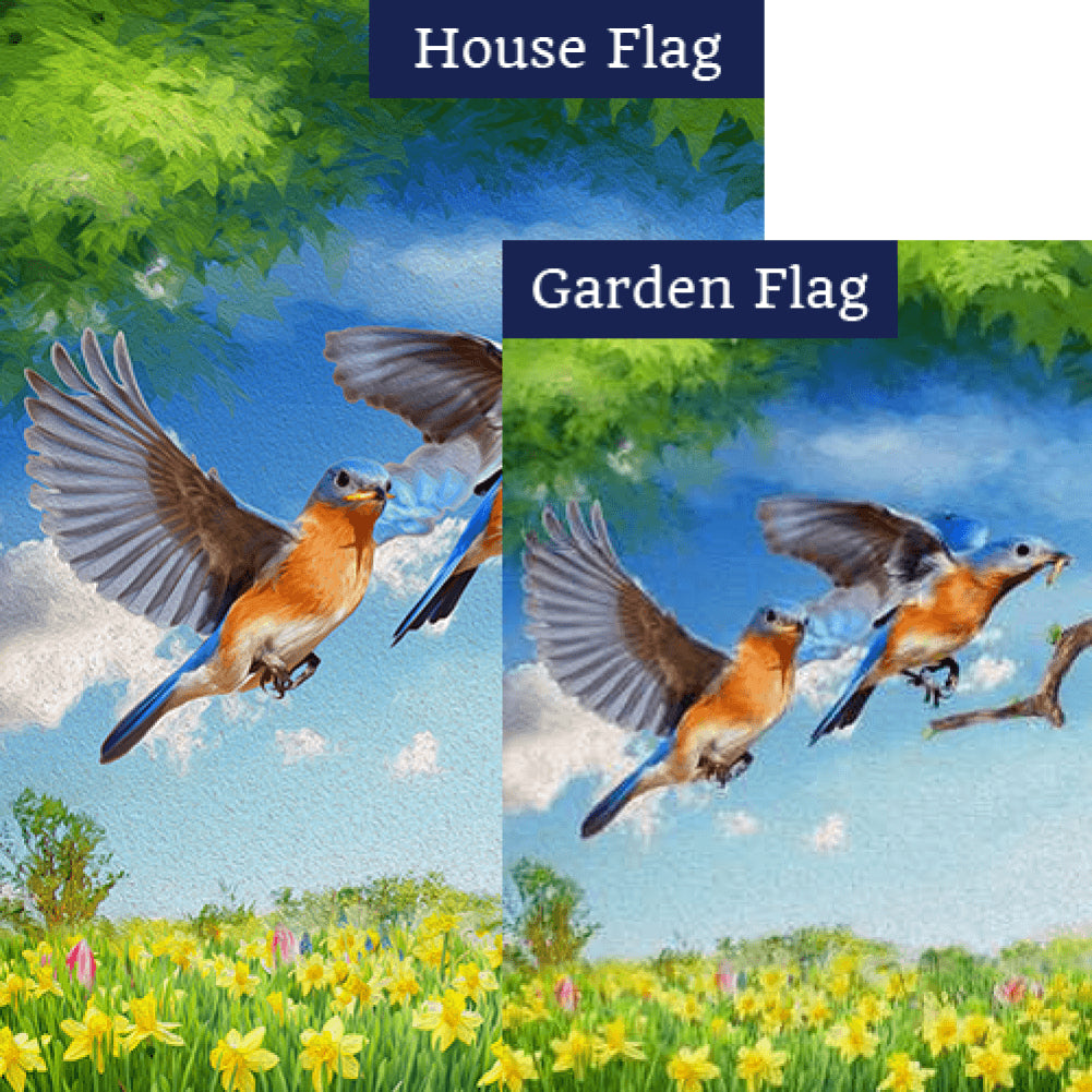 Early Bird Gets the Worm Flags Set (2 Pieces)