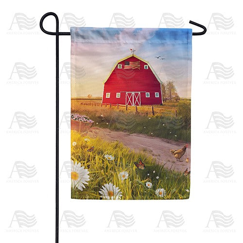 American Spring Barn Double Sided Garden Flag