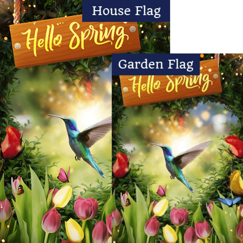 Magical Spring Forest Flags Set (2 Pieces)