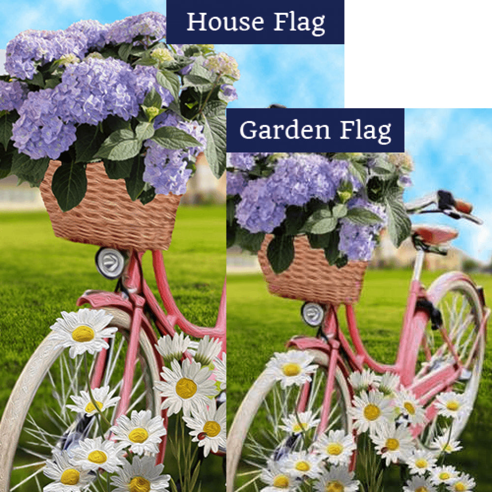 Pedaling Petals Flags Set (2 Pieces)