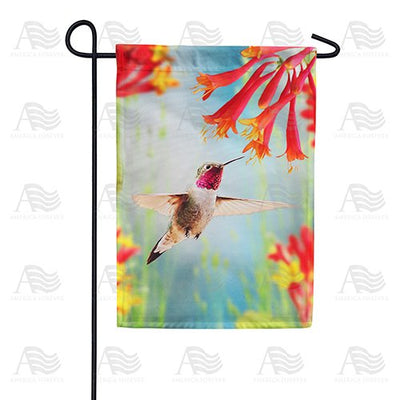 Whispering Wings Double Sided Garden Flag