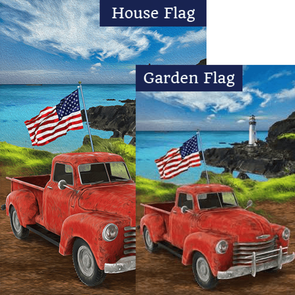 American Truck Flags Set (2 Pieces)