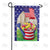 AmeriCAN Flowers Double Sided Garden Flag