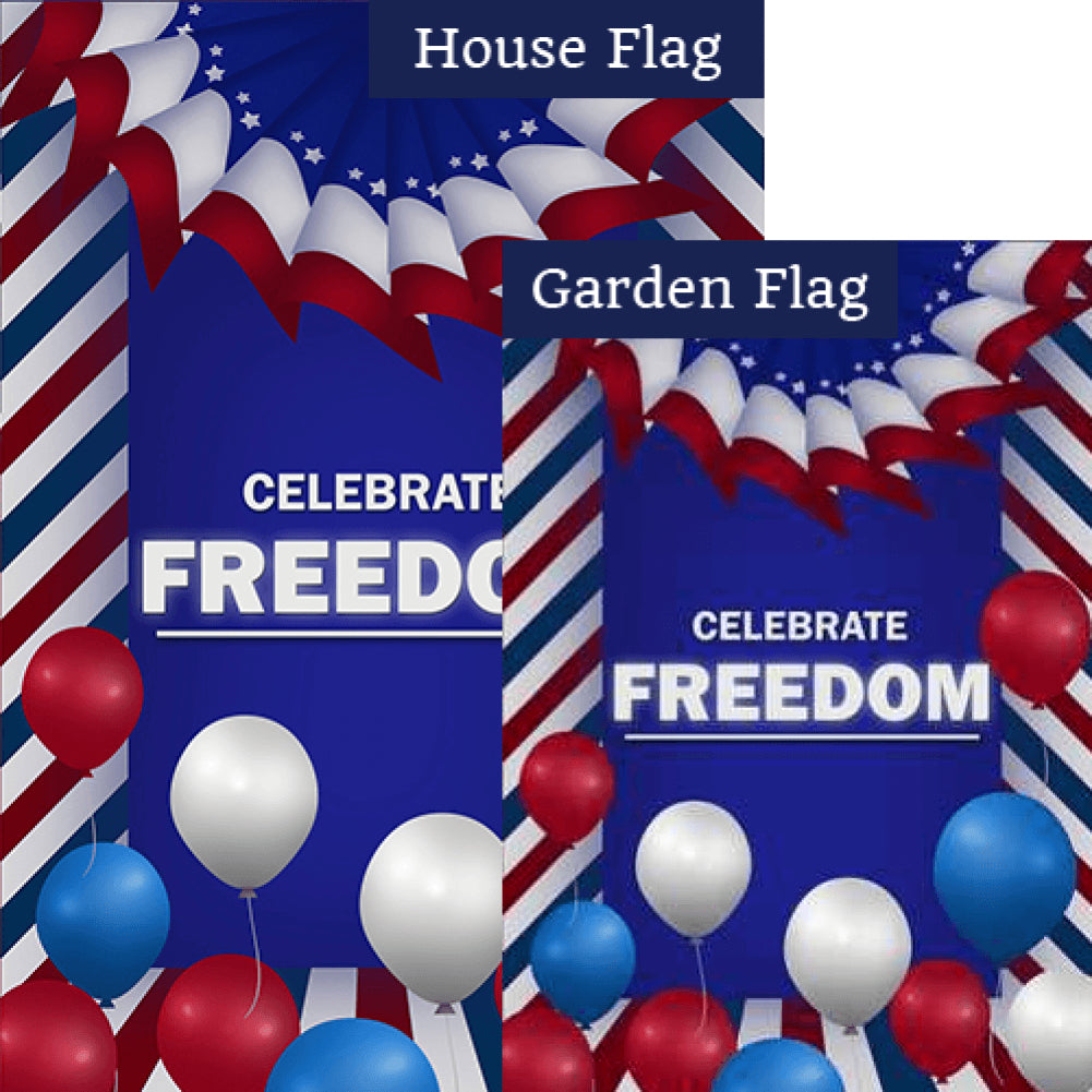 Celebrate Freedom Flags Set (2 Pieces)
