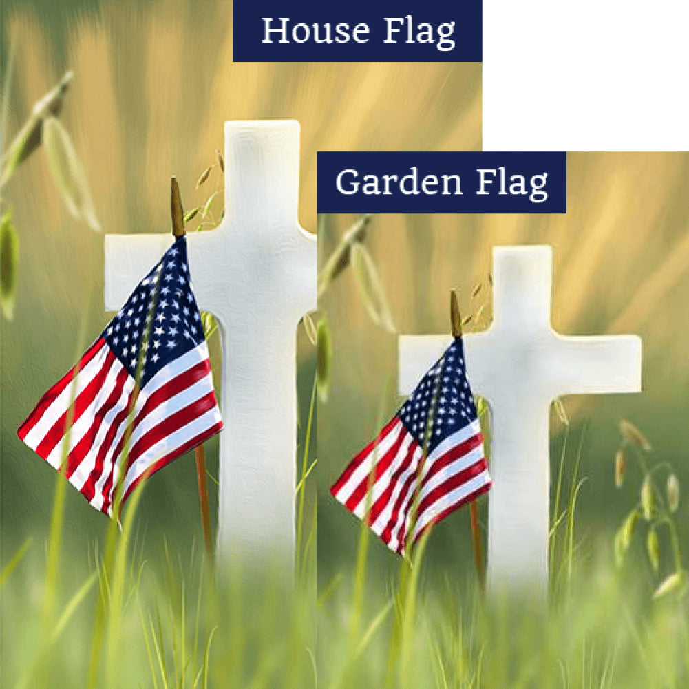 Remember their Sacrifice Flags Set (2 Pieces)
