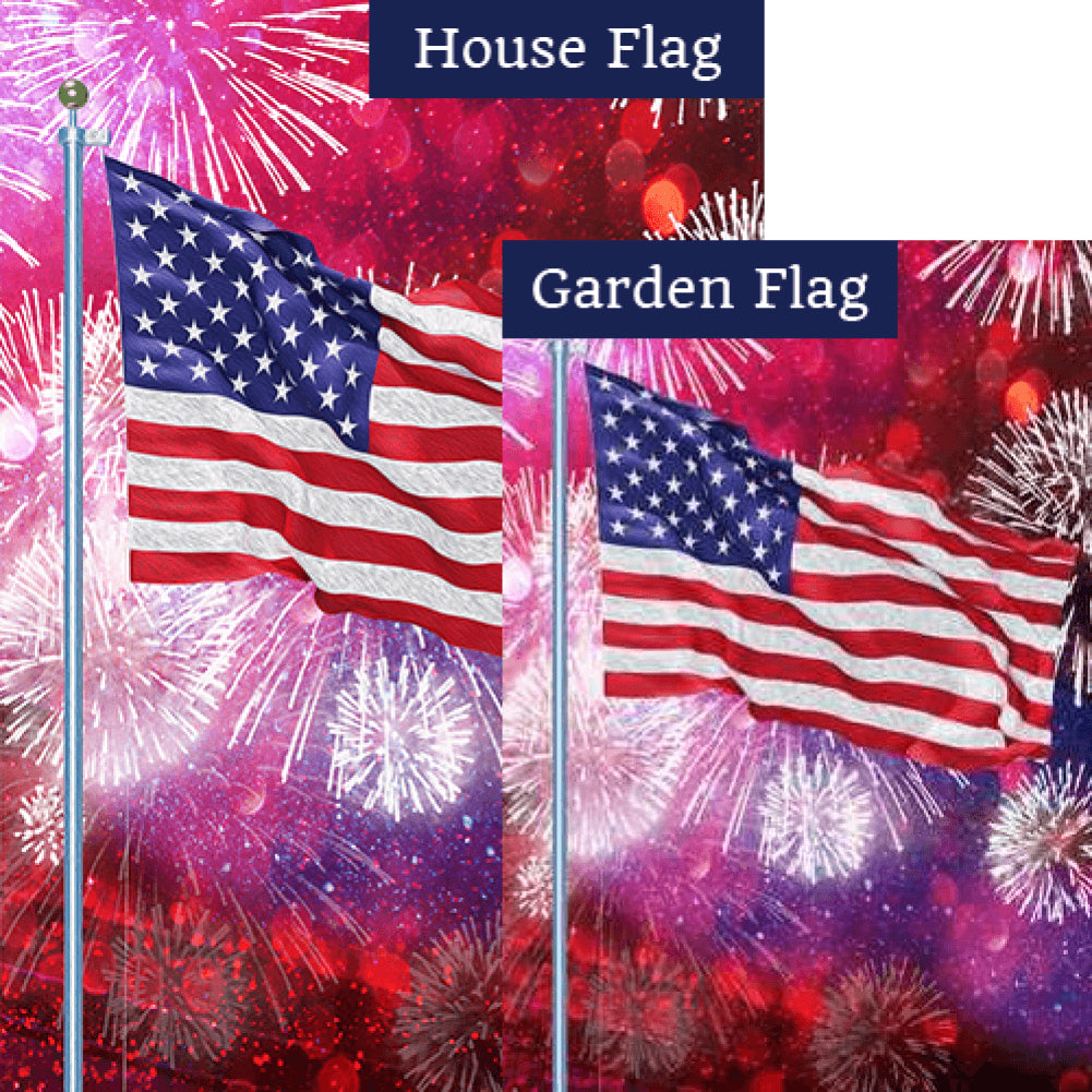 Party in the USA Flags Set (2 Pieces)