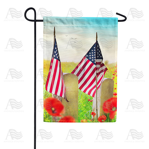 Honor the Heroes Double Sided Garden Flag