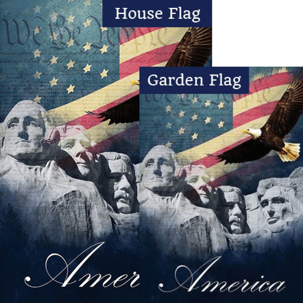 We the People Flags Set (2 Pieces)