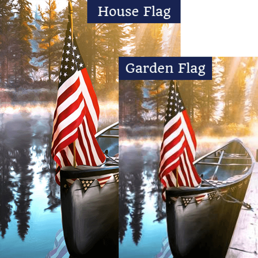 Leisure Lake Flags Set (2 Pieces)