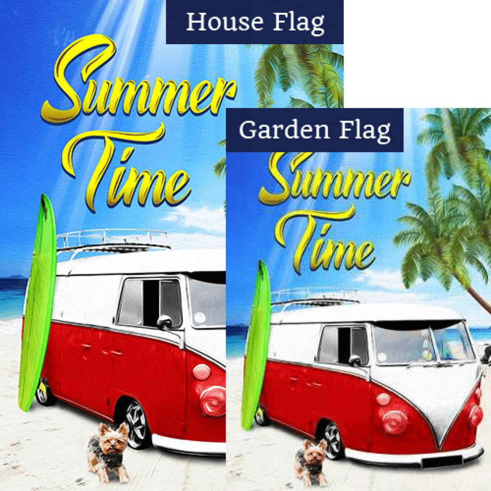 Beach Cruisin' Flags Set (2 Pieces)