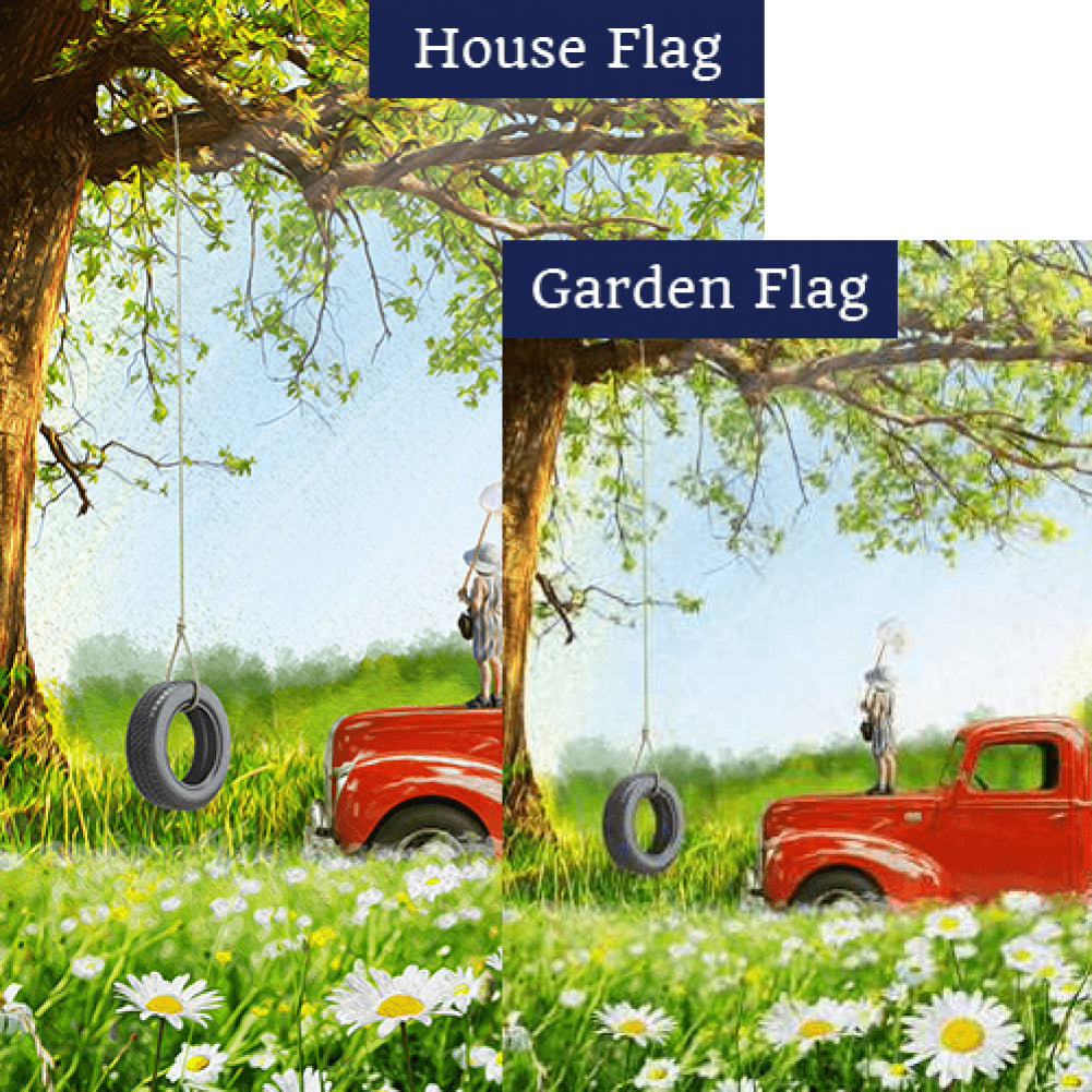 Butterfly Catcher Flags Set (2 Pieces)