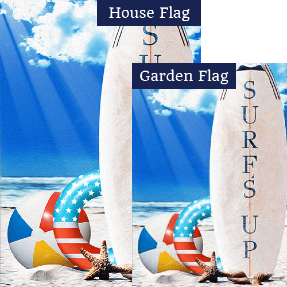 Surf's Up! Flags Set (2 Pieces)