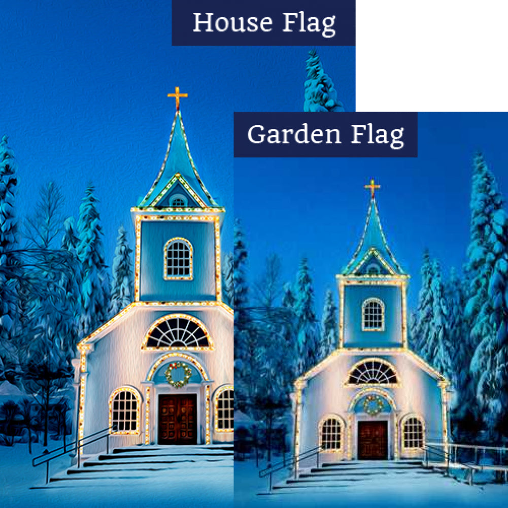 O Come All Ye Faithful Flags Set (2 Pieces)