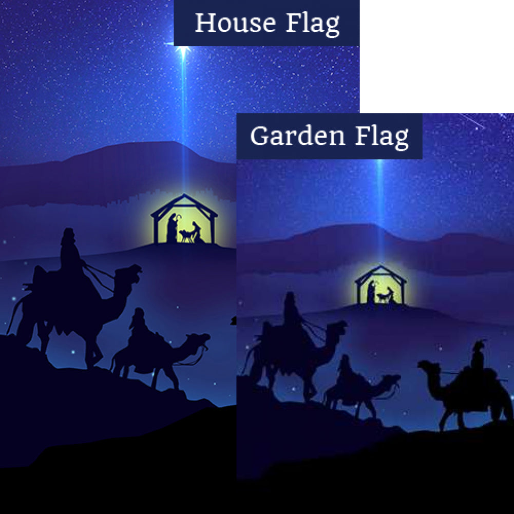 O Night Divine Flags Set (2 Pieces)