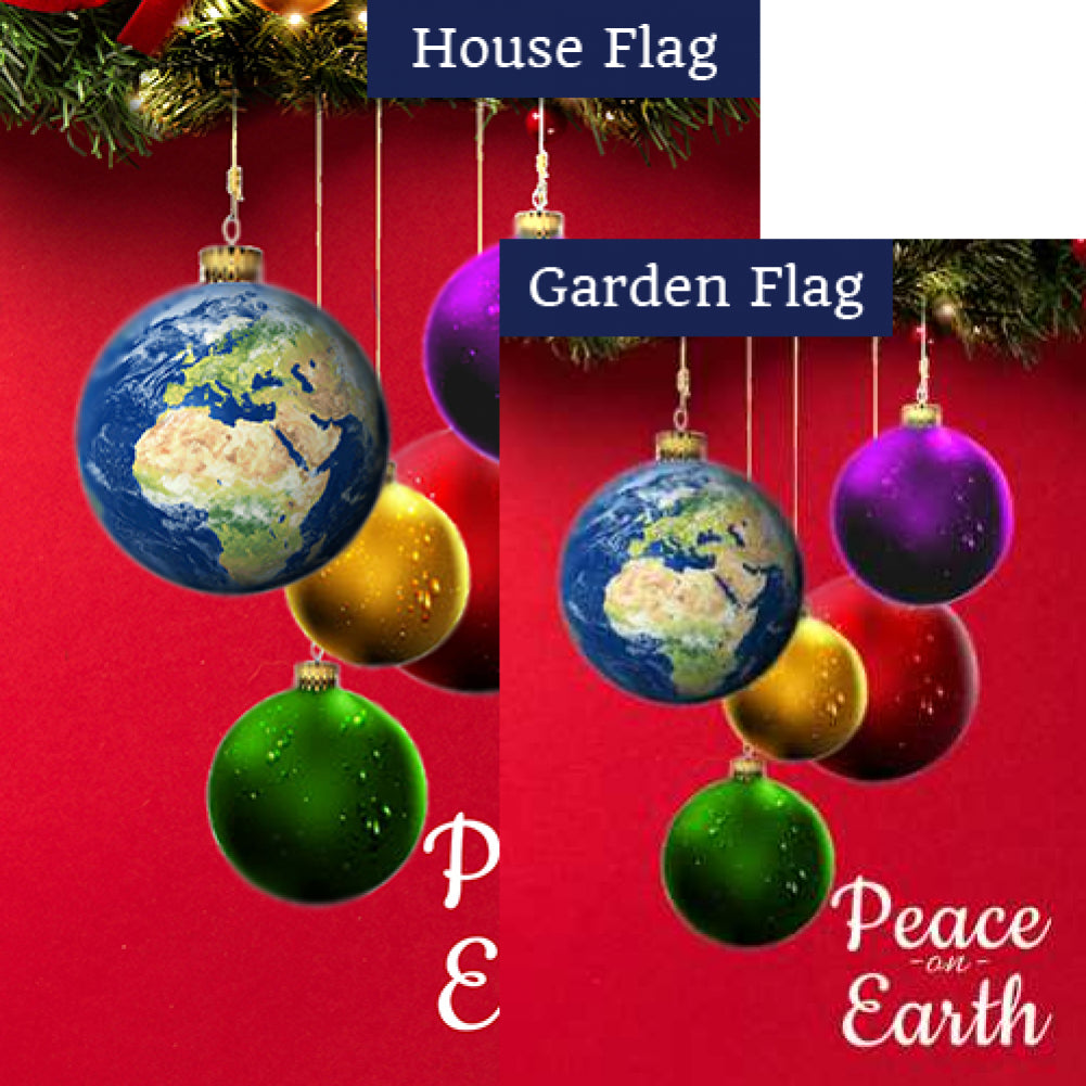 Peace On Earth Flags Set (2 Pieces)