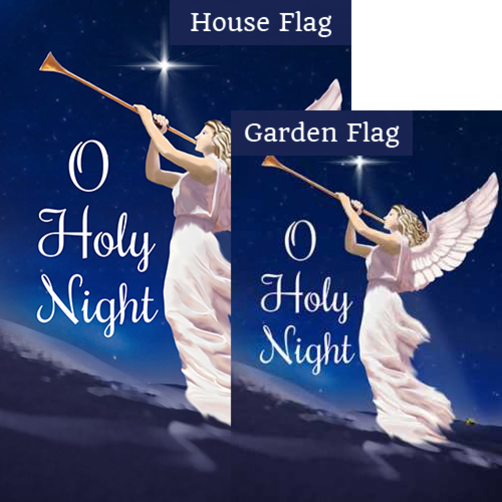 Hark! The Herald Angels Sing! Flags Set (2 Pieces)