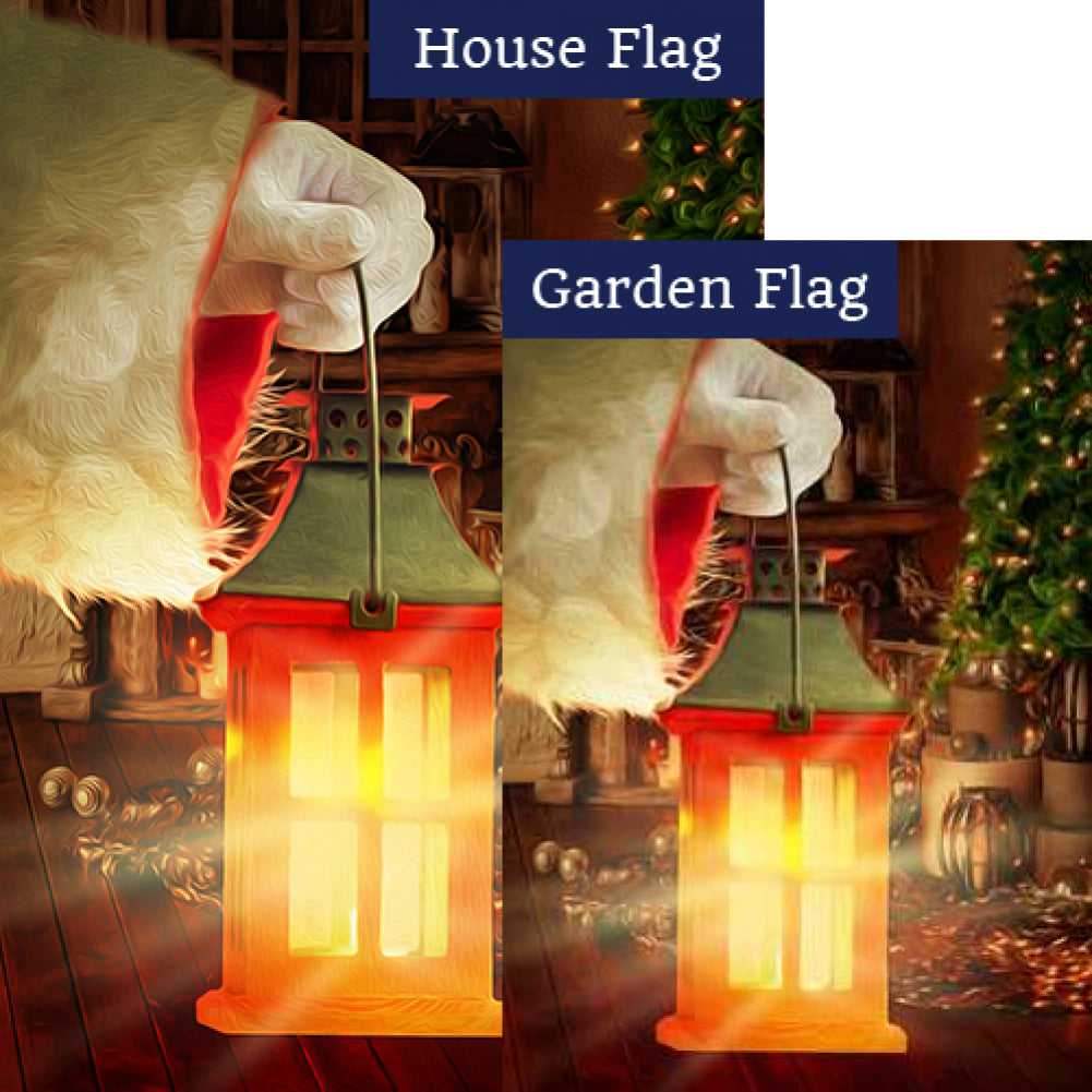 The Warmth Of Christmas Flags Set (2 Pieces)