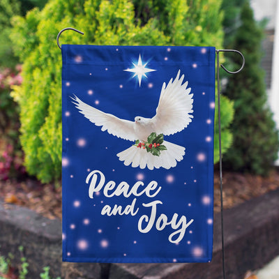 Peace And Joy Flags Set (2 Pieces)