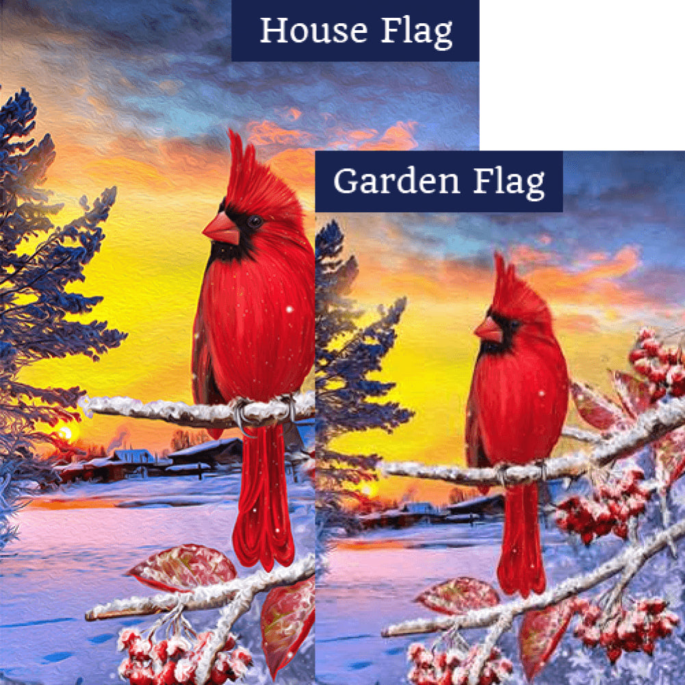Bitter Cold Day Flags Set (2 Pieces)