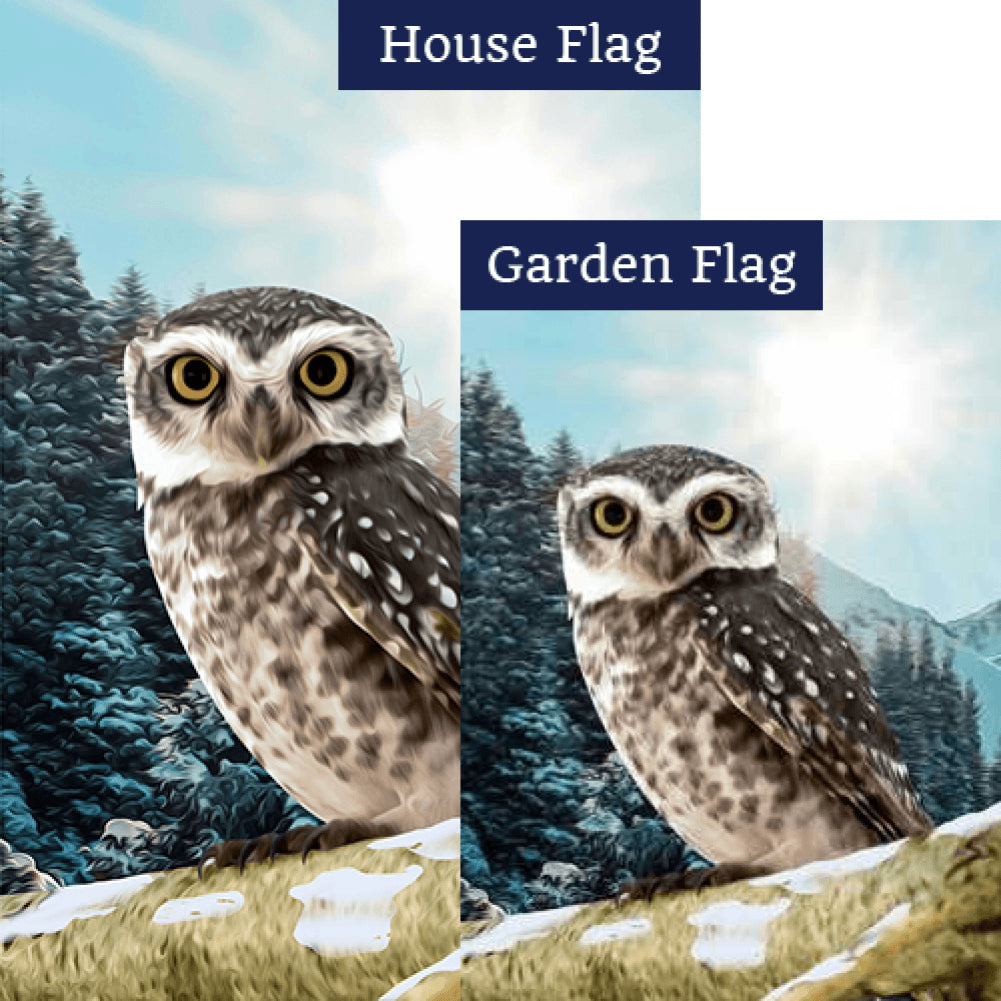 Winter Morning Flags Set (2 Pieces)