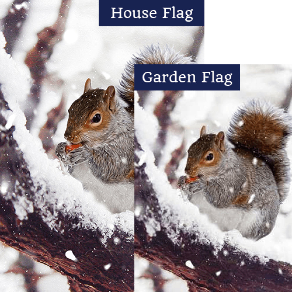 Winter Foraging Flags Set (2 Pieces)