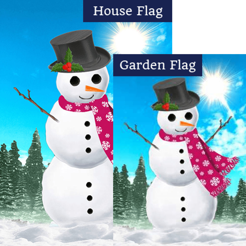 Let's Have Fun Before I Melt Away! Flags Set (2 Pieces)