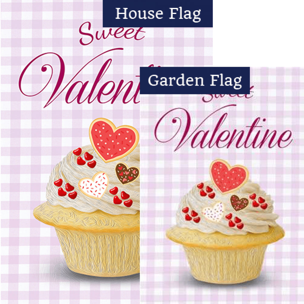 Sweet Valentine Flags Set (2 Pieces)