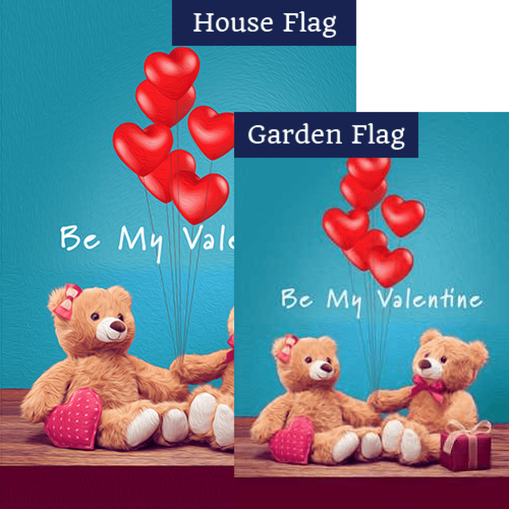 You Pull My Heart Strings Flags Set (2 Pieces)