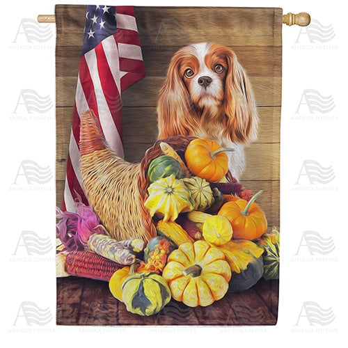 American Faithful Harvest Double Sided House Flag