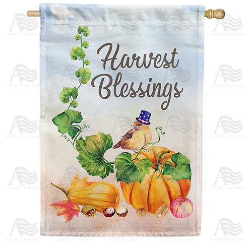 Small Blessings Double Sided House Flag