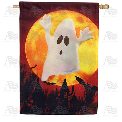 Ghostly Spirit Double Sided House Flag