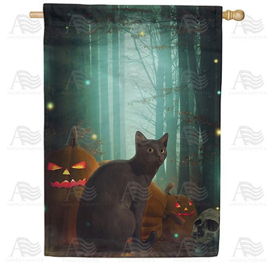 Mystical Forest Double Sided House Flag
